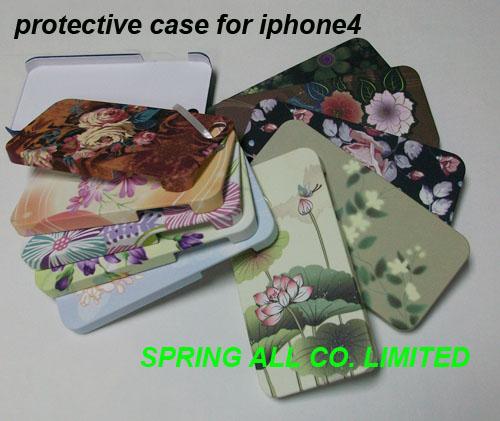 Quality Caisse colorée de téléphone portable pour iphone4 /4s, faite de PC en plastique for sale