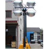 China portable light tower outdoor LED lamp head tower lighting winch up 6 meter high power supply optional wholesale