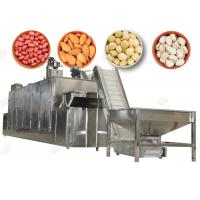 China Electric Peanut Roaster Machine , Nut Cracker Machine Cooling Pistachio Macadamia wholesale