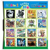 China F13-218 32GB 218 in 1 218 in one Multi games Card for DS/DSI/DSXL/3DS Game Console wholesale