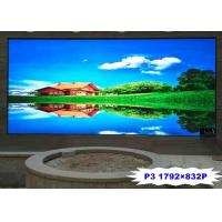 Buy cheap 1792x832P P3 Indoor Full Color Led Display Screen , Led Advertising Board 1000 from wholesalers