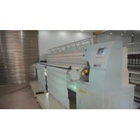 China High Speed Single Roll Computerized Quilting Machines Multi Head With Embroidery Function wholesale