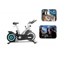 China Professional Virtual Reality Bike Games 9D VR Stationary Bike With Multi Screen wholesale