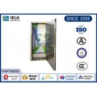 China Flat Plate Stainless Steel Fire Rated Doors For Commercial Buildings wholesale