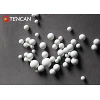 China High Wear Resistance Ball Mill Media Alumina Grinding Ball White Color on sale