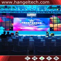 China Indoor P4.81mm CTICK Certified RGB Full Color LED Wall Backdrop for Rental in Melbourne on sale