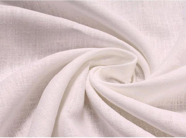 Quality 100% LINEN FABRIC PLAIN DYED WITH SOLID COLOUR   14SX14S  CWT #101 for sale