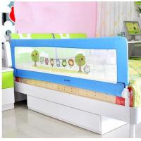 China Portable Toddler Bed Guard Rails For Convertible Cribs , Folding Bed Rails For Kids on sale
