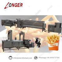 China Fully Automatic French Fries Production Line|Commercial French Fries Making Line|Automatic French Fries Processing Line wholesale
