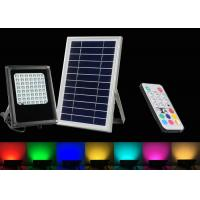 Buy cheap 6W RGB Colors Changing Solar Security Flood Lights With Remote Control from wholesalers