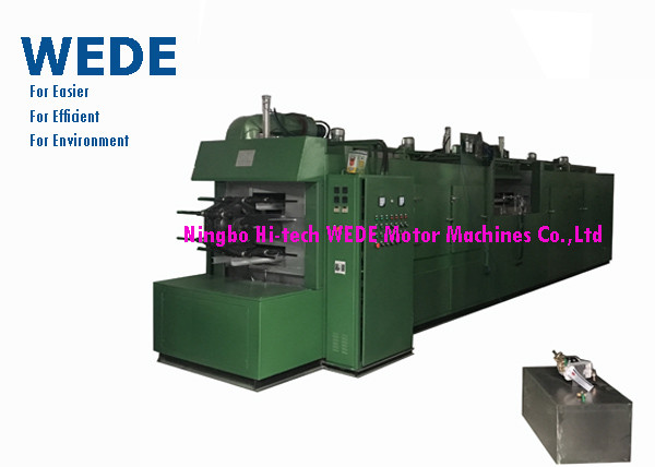 Quality Auto Armature Varnish Coating Machine For 24 Slots External Cooling System for sale
