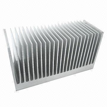 Heatsink, Made of 6061 Aluminum, Extrusion P