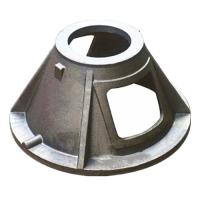 China Custom GGG40 Material Ductile Cast Iron Parts Green Sand Casting Process wholesale