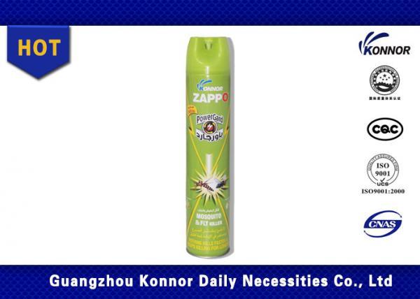 Quality Apple Perfume Zappo Aerosol Insecticide Spray 600ml Tetramethrin 0.4% Permethrin 0.4% for sale