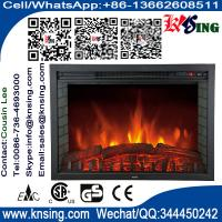 """Electric Fireplace Heater EF462 insert Fireboxs 29"""" Stoves log burning Flame remote control mantel chimenea room heater"""