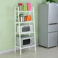 China Four Layers Home Wire Shelving For Collection  , Black Or White Metal Iron Boltless Shelving wholesale