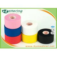 China First Aid Cotton Sports Strapping Tape For Shoulder , Athletic Support Tape Comfortable wholesale