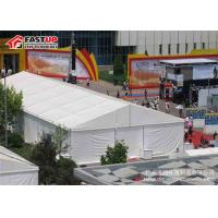 China High Grade Military Wall Tent , Large 20x20 Frame Tent Longer Functional Life on sale