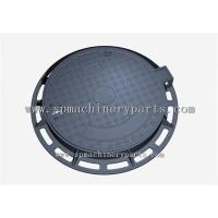 China Security Good Quality Round Shape EN124 D400 Cast Iron Sewer Cover On Road wholesale