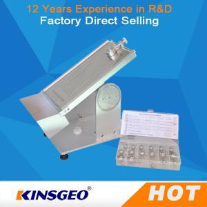 20º ~40°Adjustable Angle Tape Peel Test Machine , Rolling Ball Tack Tester KJ-6032