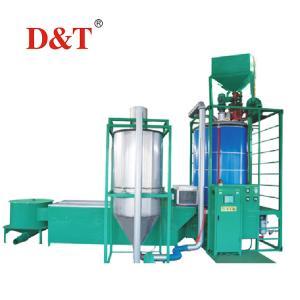 China D&T High Performance styrofoam polystyrene expansion beads making machine eps making machinery wholesale