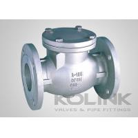 China JIS Swing Check Valve CF8 CF8M SCS13A SCS14A Flanged Damper Available wholesale