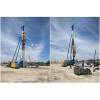 China 5T-16T Hammer Piling Machine 9T Capacity Customized Color 1 Year Warranty on sale
