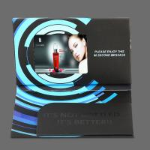 Buy cheap O costume e anunciou o folheto video de 5 Digitas da polegada/folheto video da produção from wholesalers