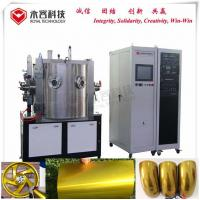 Buy cheap Electrostatic Metallic Chrome Gold Color PVD Plating Equipment For Casting Alloy from wholesalers