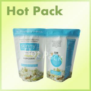 China Laminated Popcorn Original Sea Salt Skinny Vitamins Matte Stand Up Bags wholesale