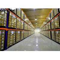 China Steel Rolled Very Narrow Aisle Racking Optional Colors Industrial Equipment on sale
