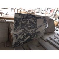China Arabescato Prefabricated Marble Countertops , Polished Pre Built Countertops For Hotel wholesale