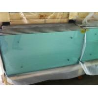China Tempered Safety toughened glass panels 15mm for furniture with holes , glass table wholesale