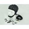 China Neuroscan Compatible EEG Electrode Cap Blue Black Cap Color 32 / 64 /128 Channel wholesale