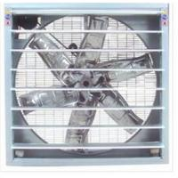 China Wall Mounted Kitchen Extractor Fan 380v 1100w With Galvanized Steel Material wholesale