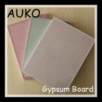 China Environmental Protection Paper Faced Gypsum Board 9.5mm wholesale