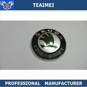 China 88mm Plastic Chrome Body Sticker Auto Part Car Emblem Badge For Skoda wholesale