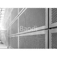 China Slotted Hole Galvanized Perforated Steel Sheet For Architecture 1.5m X 3m wholesale