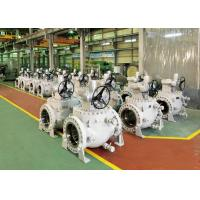 China Worm Gear Operation Top Entry Ball Valve With Easy Maintenance wholesale