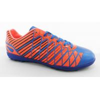 China Lightweight Customized Logo Mens Soccer Shoes With Fashionable Design wholesale