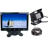 China Backup Car Reversing Camera LCD 7 inch Monitor 10M IR Vehicle Camera on sale