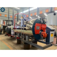China 1000 Kg 1 Ton Natural Gas Fired Steam Boilers Horizontal For Food Sterilization wholesale