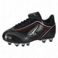 China Men's Sports Shoe/Football Shoe, PU Upper and Rubber Outsole, Available in Various Sizes and Colors on sale