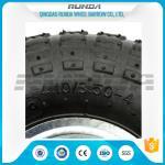 Galvanized Color Pneumatic Rubber Wheels Steel Rim Ball Bearing 55mm Hub 3.50-4