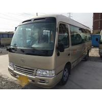 China 29 seats japan toyota coaster buses 2011 2010 2012 diesel  toyota  bus left hand drive wholesale