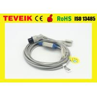 China Siemens 5 leads one piece ECG cable for patient monitor,  IEC round 10pin wholesale