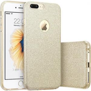 Buy cheap Искра светя сотовому телефону Блинг Яблока покрывает защитное для 5,5 дюймов ИФоне 7 добавочного from wholesalers