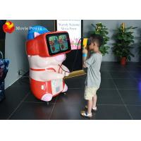 China Develop Kid's Intelligence 9D VR Cinema Machine Interactive Kids Robot With VR Glasses wholesale