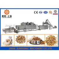 Buy cheap 380v 22kw Pet Food Production Line High Efficiency 120 - 150kg / H 12000 * 4000 * 2200mm from wholesalers