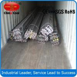 China 15kg/m Railroad light steel rail wholesale